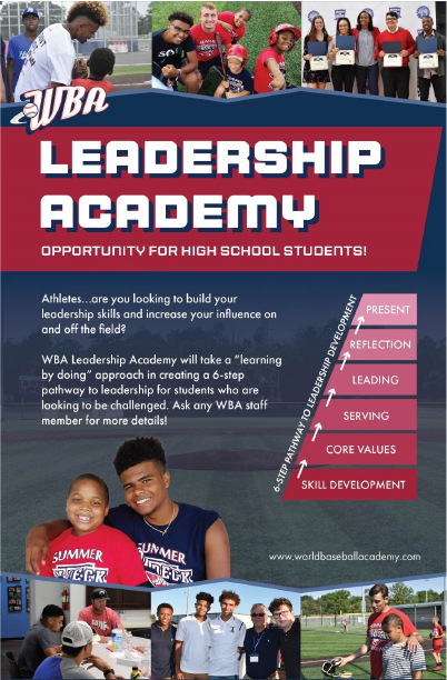 Leadership Academy Info Poster